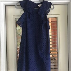 Loft Navy Blue Dress